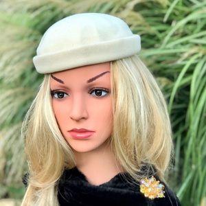 Vintage Belveders Henry Pollack 100% Wool Hat